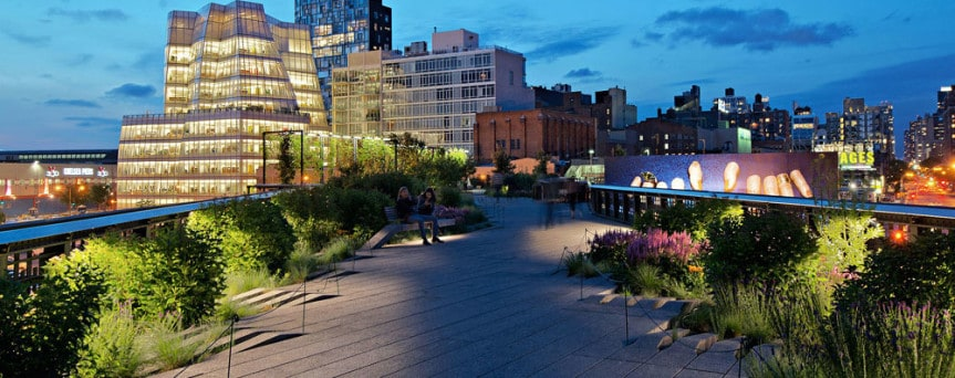 high line park Manhattan